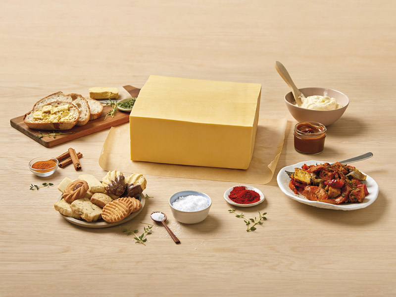 Salted Creamery Butter Tasting Table