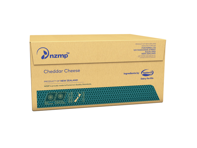 Cheddar Cheese Box
