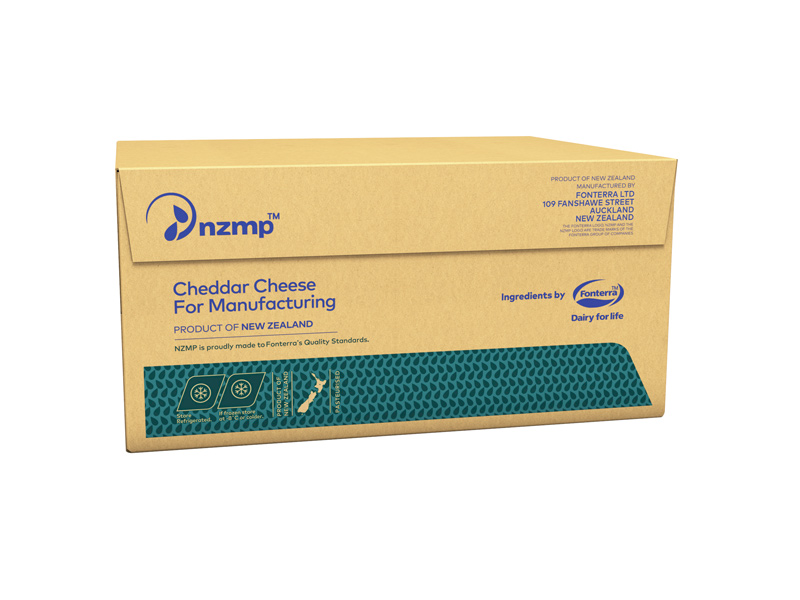 Cheddar Cheese Mature Box