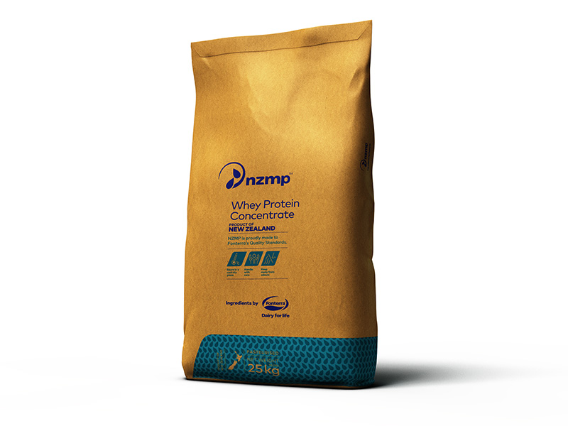 Whey Protein Concentrate Bag