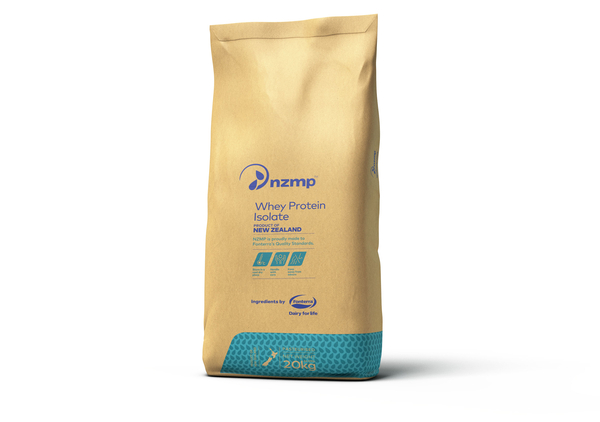 Whey Protein isolate bag