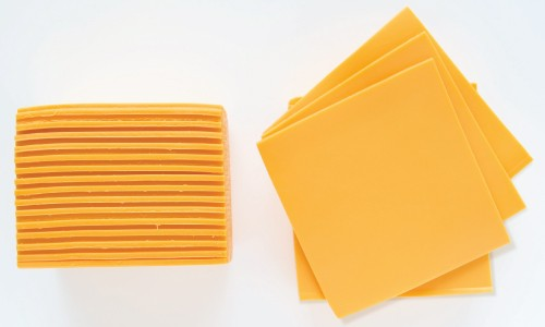 Processed Cheese Stacks Profile and Above